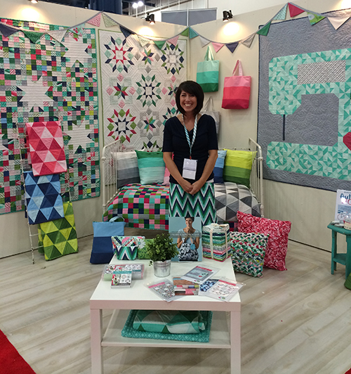 Color Me Happy by V and Co. at Quilt Market : Fresh Lemons Quilts