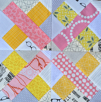 Cross Point Block, Pattern from Vintage Quilt Revival : Fresh Lemons Quilts
