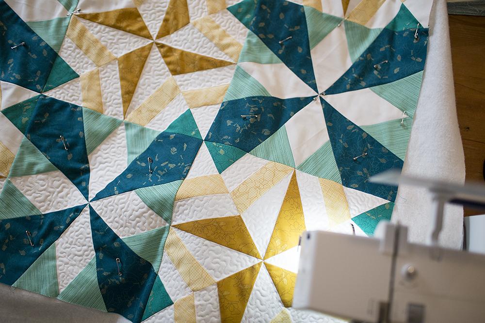 Stardust Quilt Pattern from Vintage Quilt Revival : Fresh Lemons Quilts