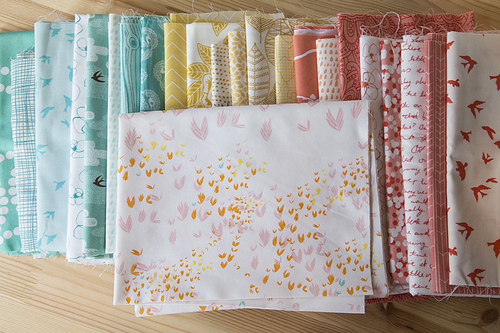 Spring Mix Fabric Pull : Fresh Lemons Quilts