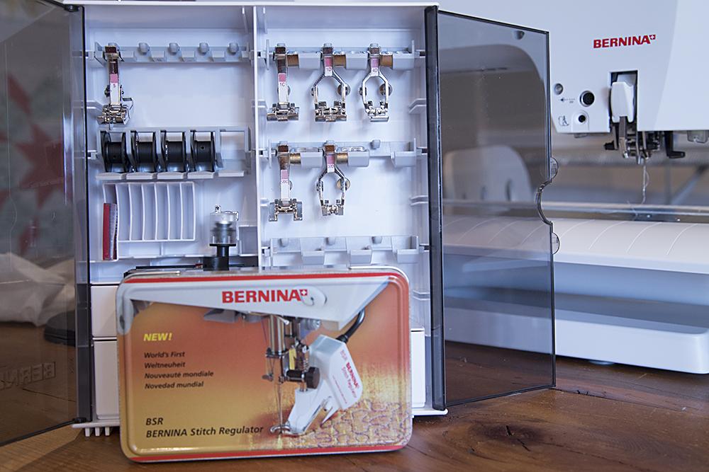 Bernina 750QE : Fresh Lemons Quilts