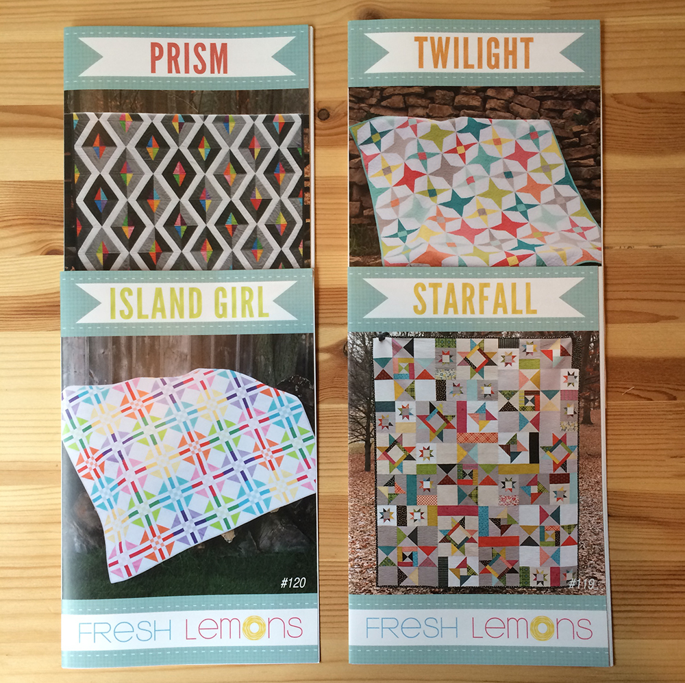 Patterns by Fresh Lemons Quilts