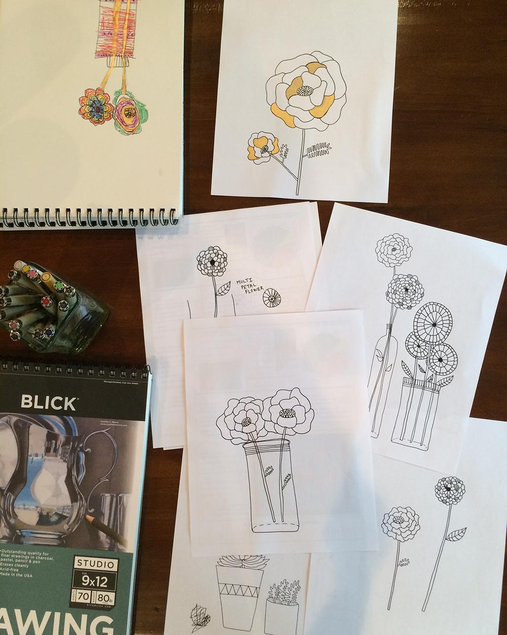 Creativebug : Basic Line Drawing class