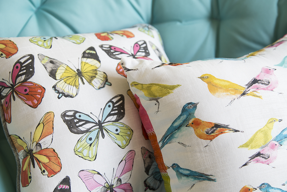 Flutter Pillows : Fresh Lemons Quilts