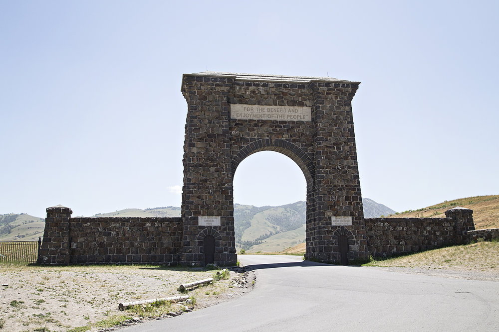 North Entrance, Yellowstone National Park