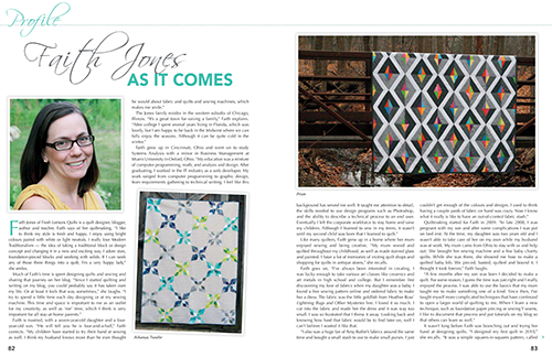 Quilts for Today ~ Faith Jones