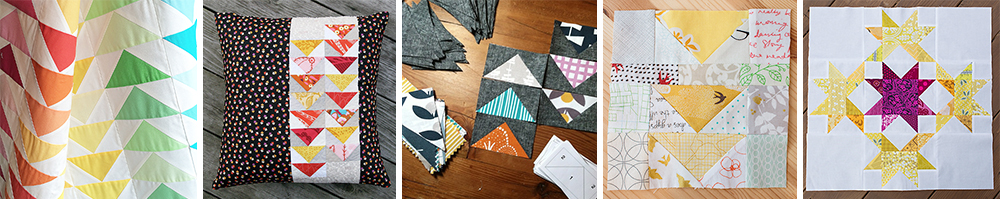 Flying Geese Paper Piecing Templates at Fresh Lemons Quilts