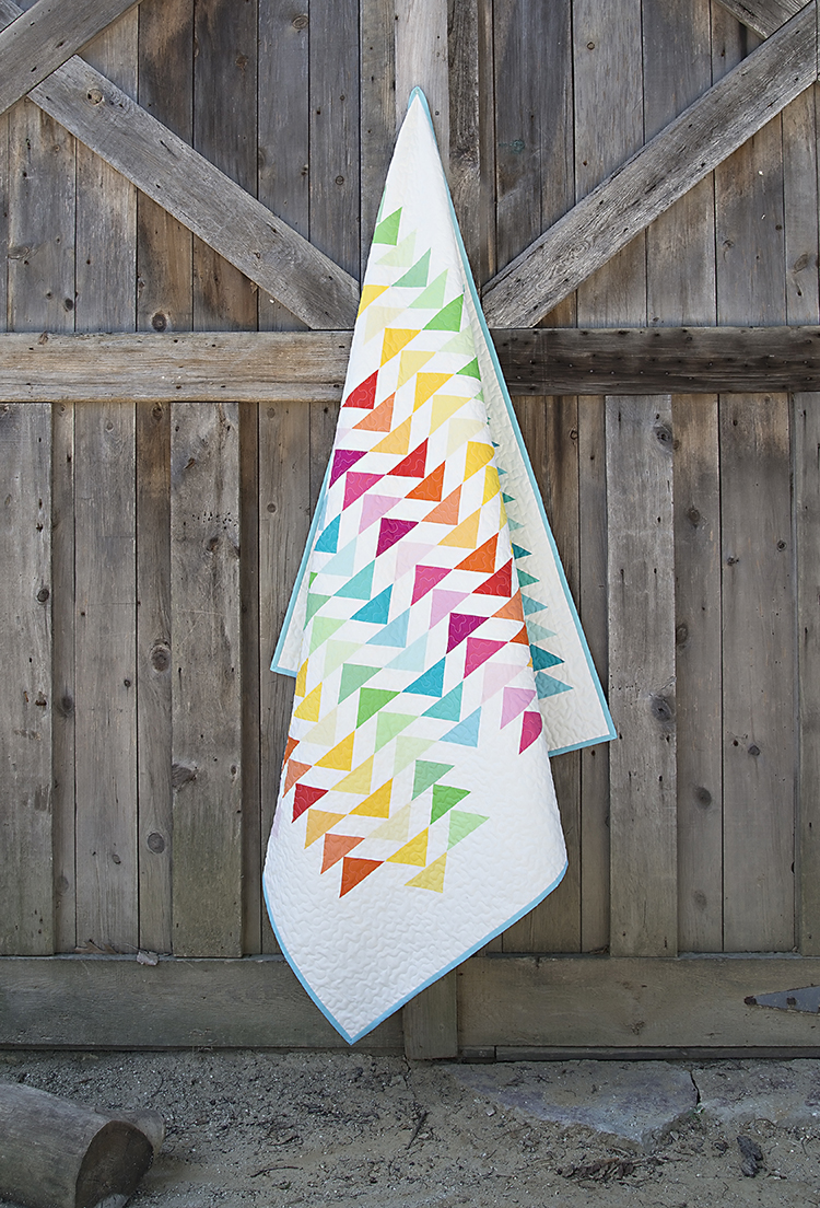 Spectrum Quilt : Fresh Lemons Quilts