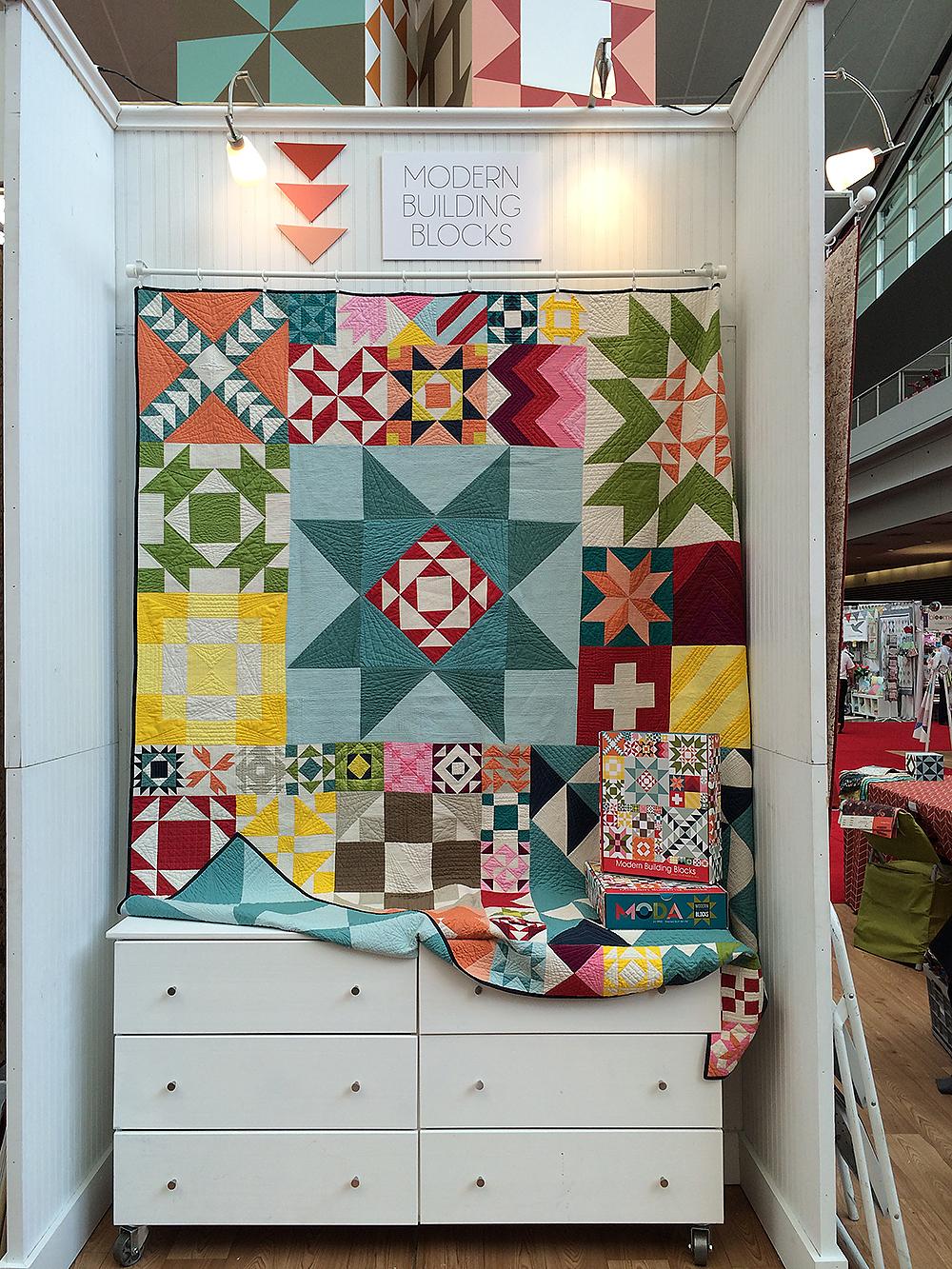 Moda Fabrics Modern Building Blocks : Fresh Lemons Quilts