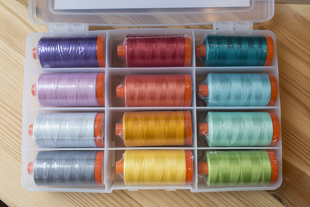 Favorite Things by Jeni Baker for Aurifil Threads : Fresh Lemons Quilts