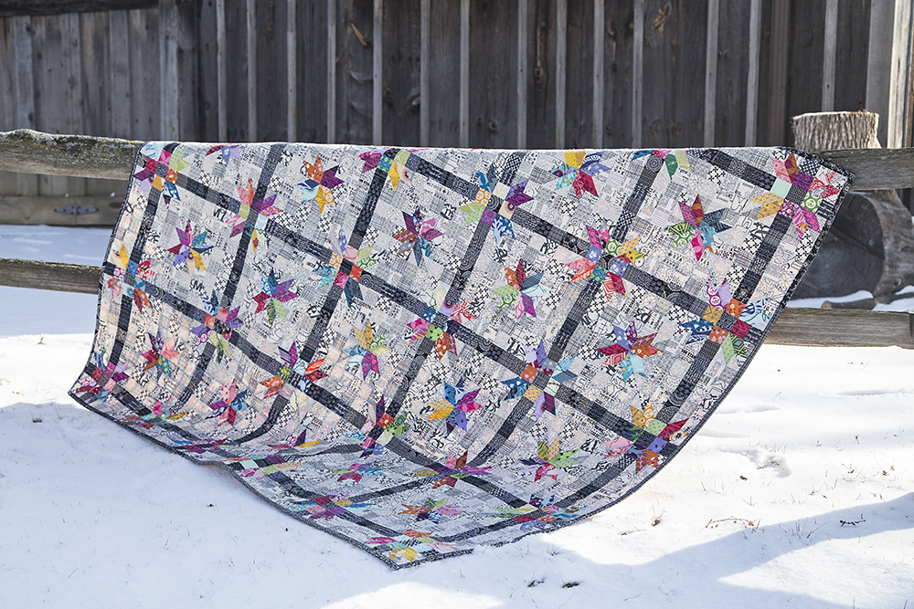 Poinsettia Quilt : Fresh Lemons Quilts