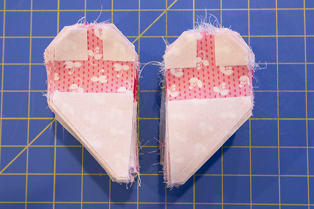 Hanna Hearts Quilt Progress : Fresh Lemons Quilts