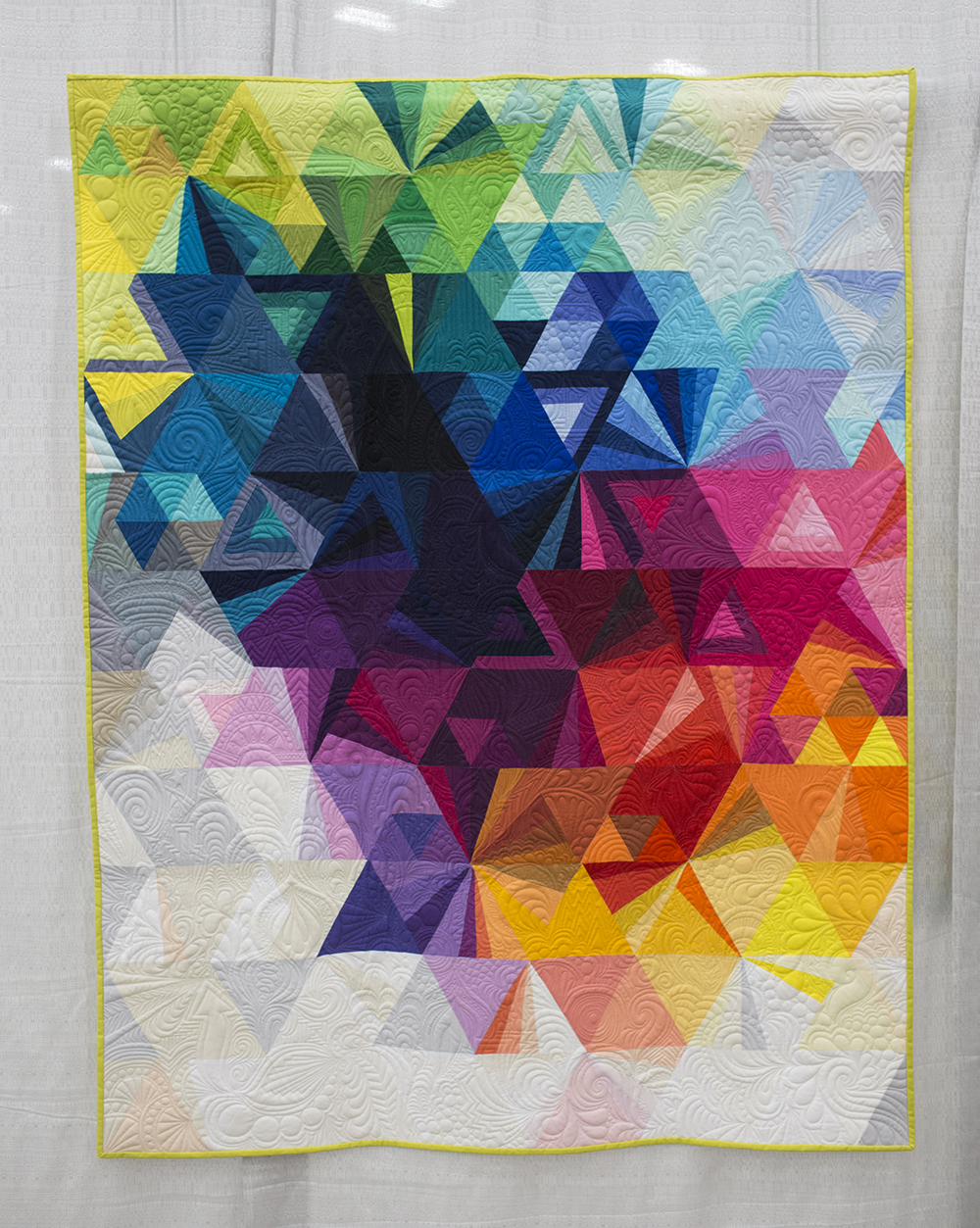 QuiltCon 2015: Tessellation 3 by Nydia Kennley