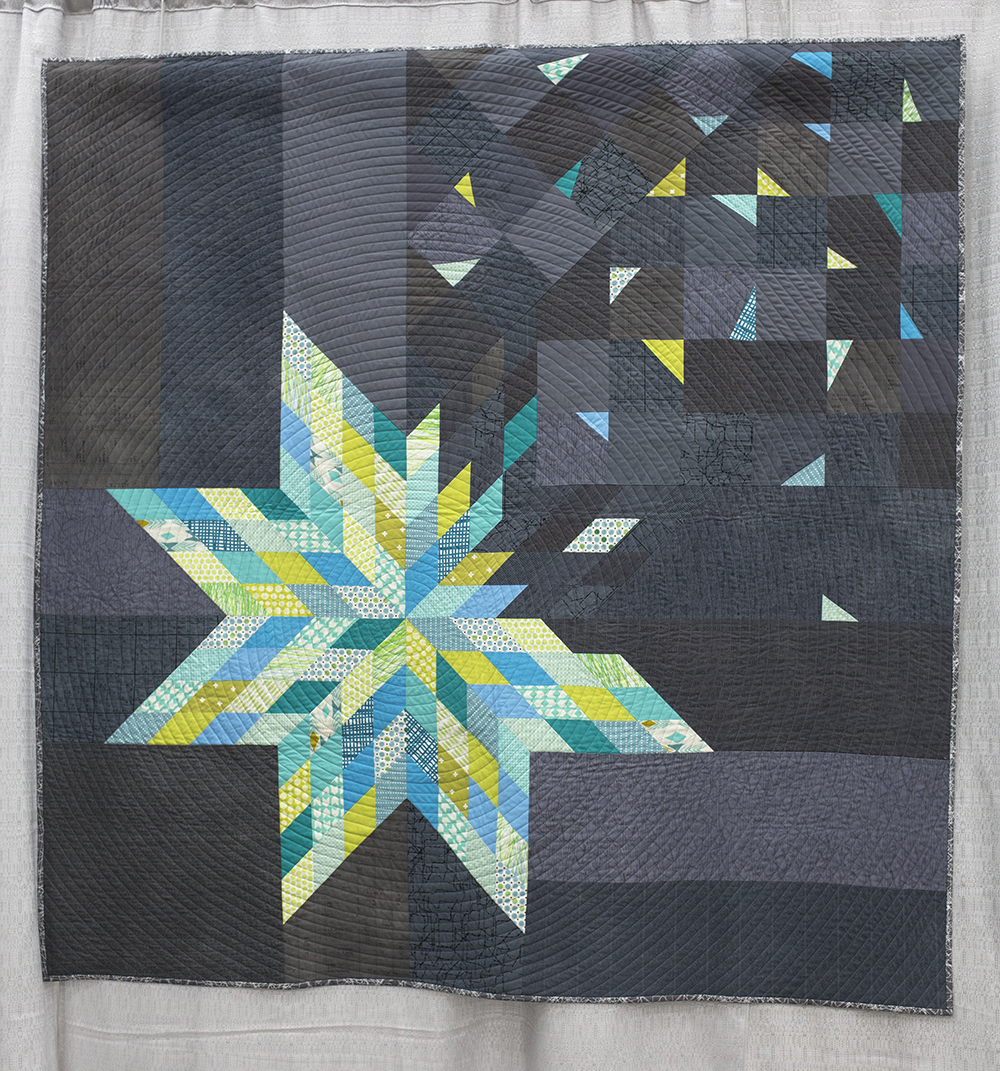 QuiltCon 2015: Deconstructed Lonestar by Amy Struckmeyer