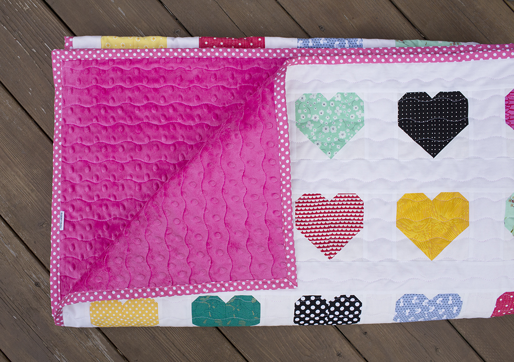 Hanna Hearts Quilt : Fresh Lemons Quilts