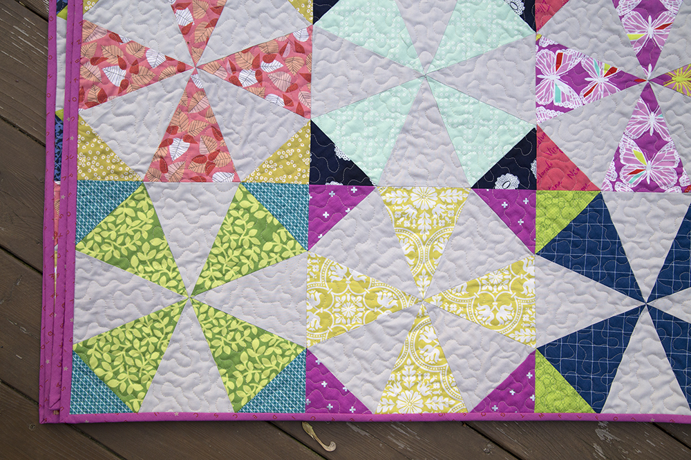 Scrappy Kaleidoscope : Fresh Lemons Quilts