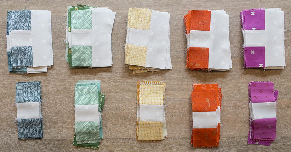 Four Square Quilt Pattern : Fresh Lemons Quilts