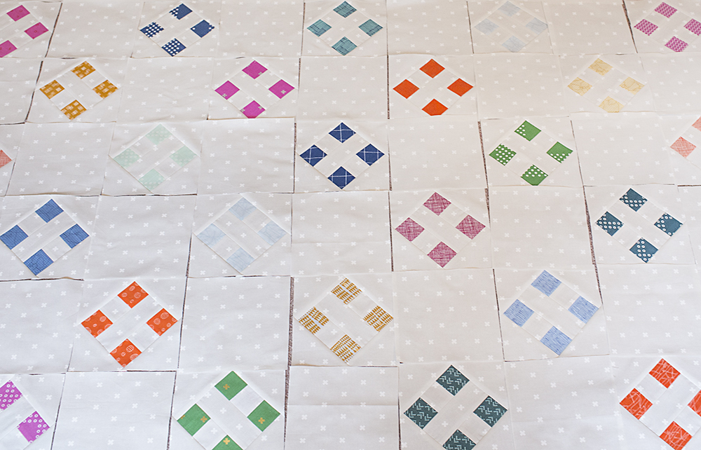 Four Square Quilt Blocks at Fresh Lemons Quilts