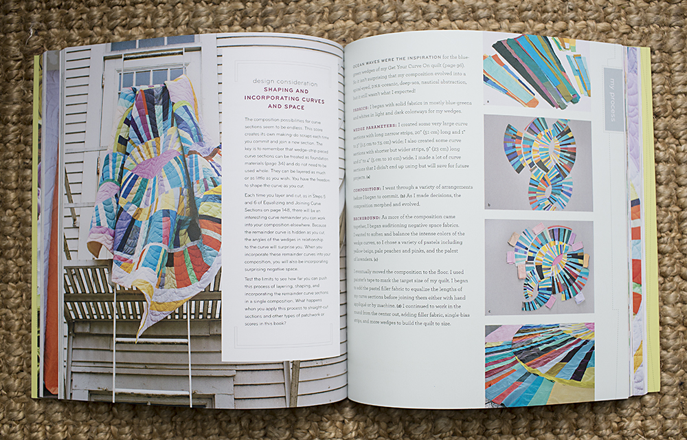 The Improv Handbook for Modern Quilters: A Guide to Creating, Quilting, and Living Courageously by Sherri Lynn Wood : Fresh Lemons Quilts