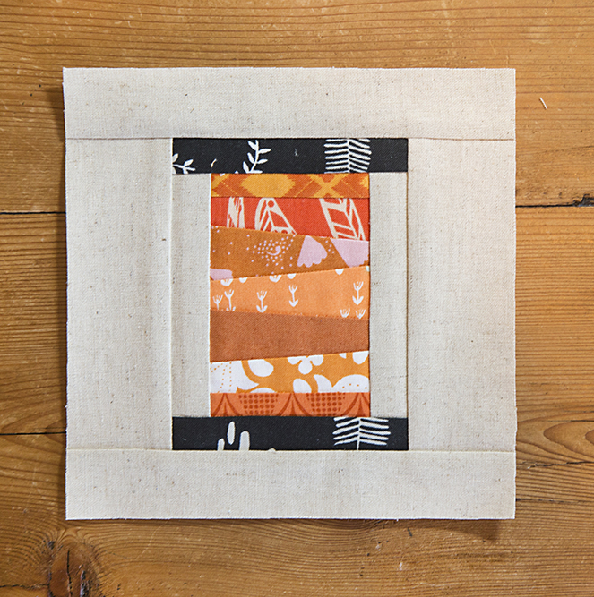 Fresh Spool Series, Scrappy Spool Quilt Block Pattern : Fresh Lemons Quilts