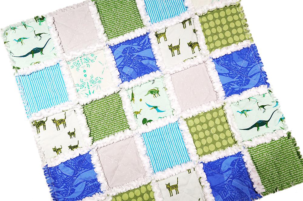 Rag Quilts : Fresh Lemons Quilts