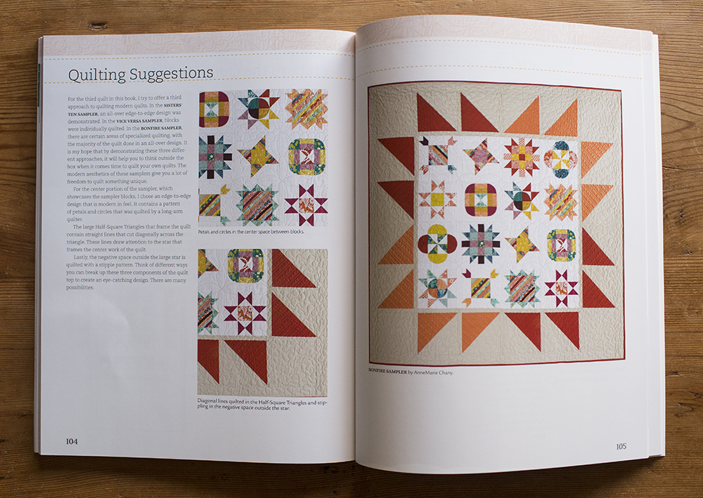 Sister Sampler Quilts by AnneMarie Chany : Fresh Lemons Quilts