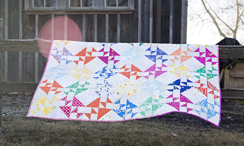 Crosses and Losses Quilt : Fresh Lemons Quilts