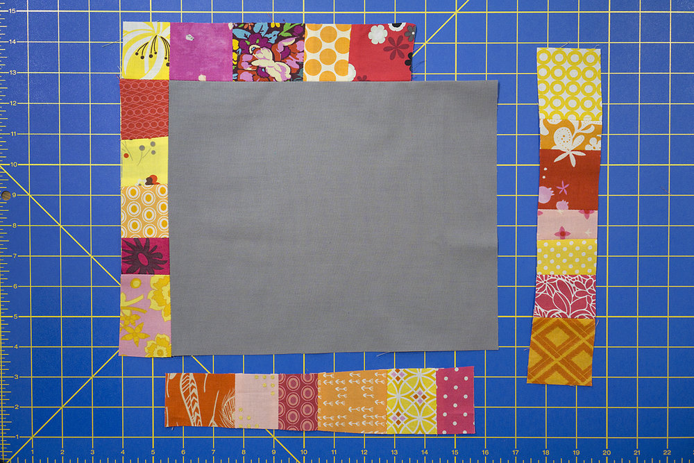 Scrapbox Frames Quilt Block Tutorial