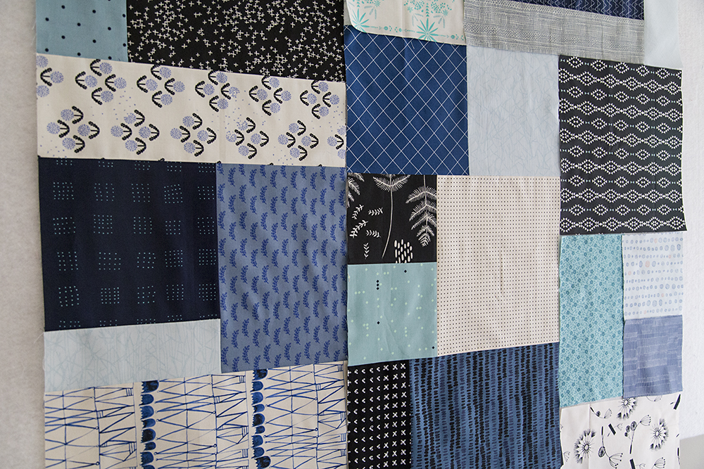 Blue Squared Quilt : Fresh Lemons Quilts