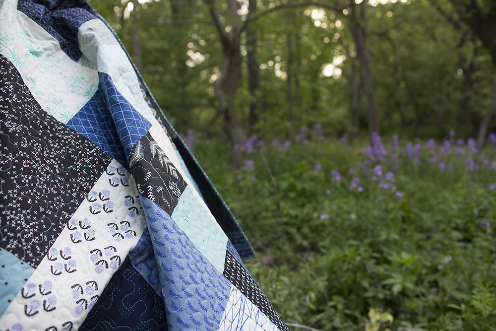 Blue Squared : Fresh Lemons Quilts