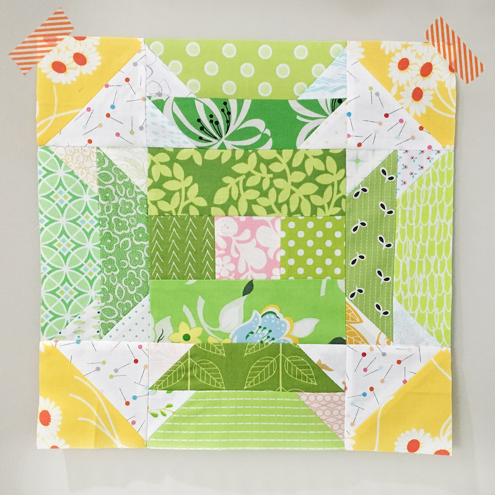 Summer Sampler 2016 Quilt Along : Week 2