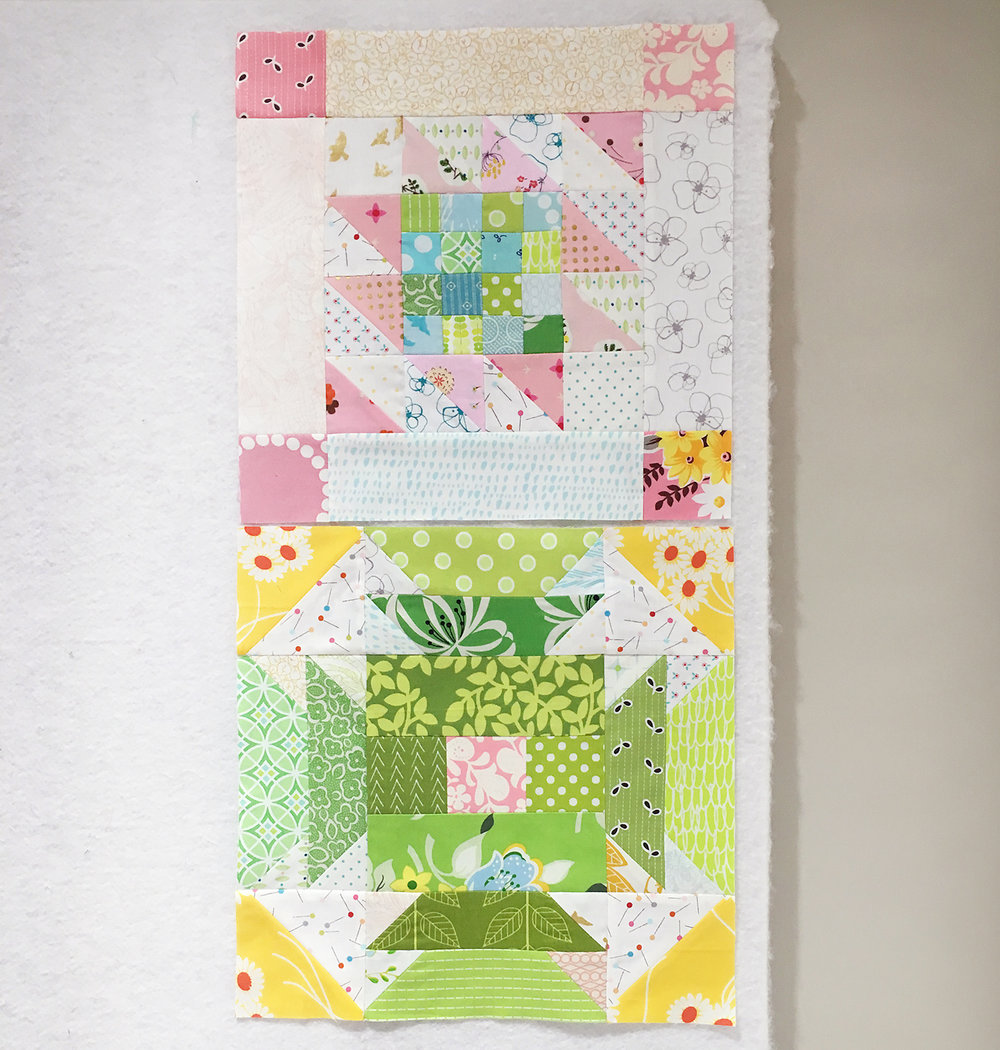 Summer Sampler 2016 Quilt Along