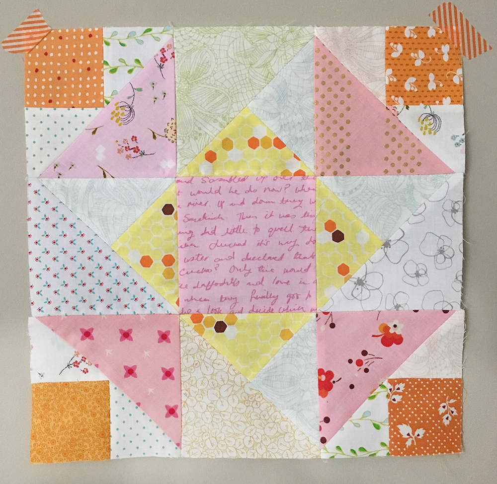 Summer Sampler 2016 Quilt Along : Corner Canyon by Amy Smart