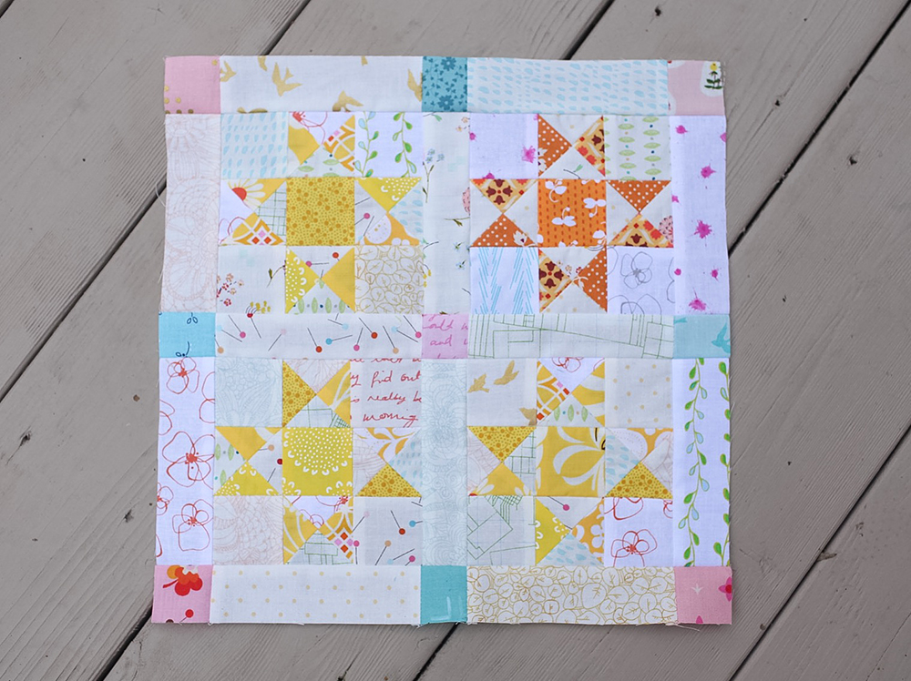 Summer Sampler 2016 : Week 20 / Tiled Stars by Lynne Goldsworthy