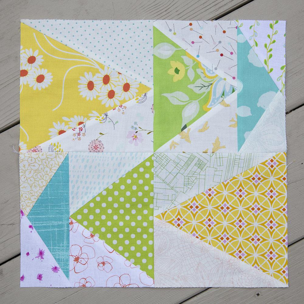 Summer Sampler 2016 : Week 17 / Triangles by Karen Lewis