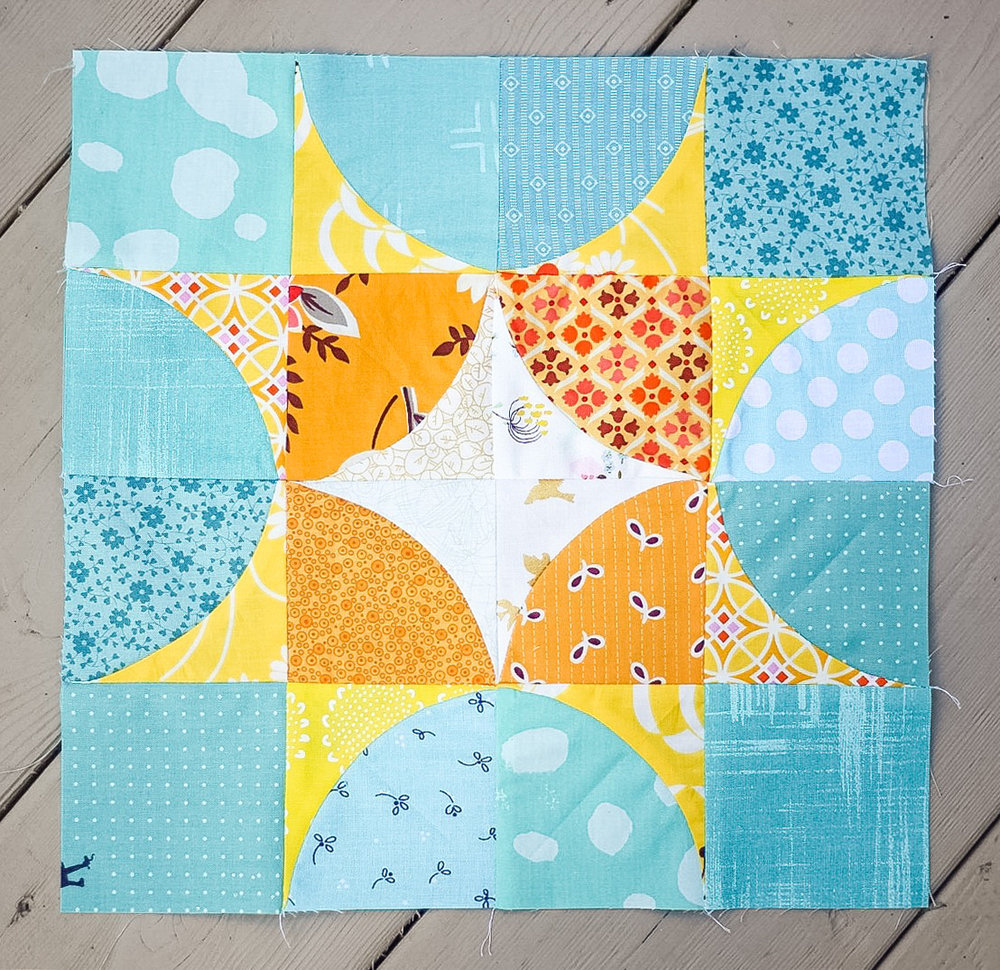 Summer Sampler 2016 : Week 18 / Holladay Star by Katie Blakesley