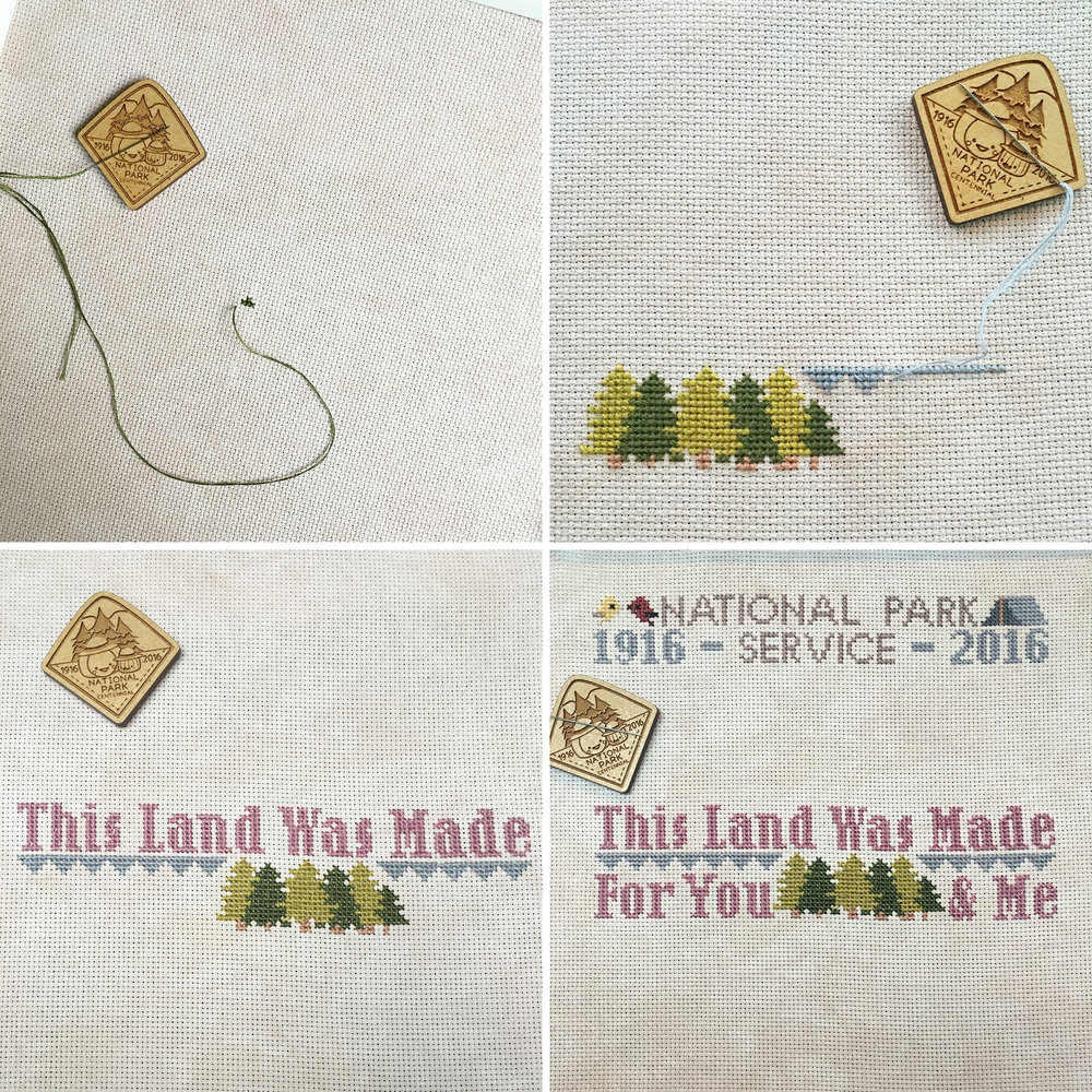 The Frosted Pumpkin Stitchery National Parks Birthday Club : Fresh Lemons Quilts