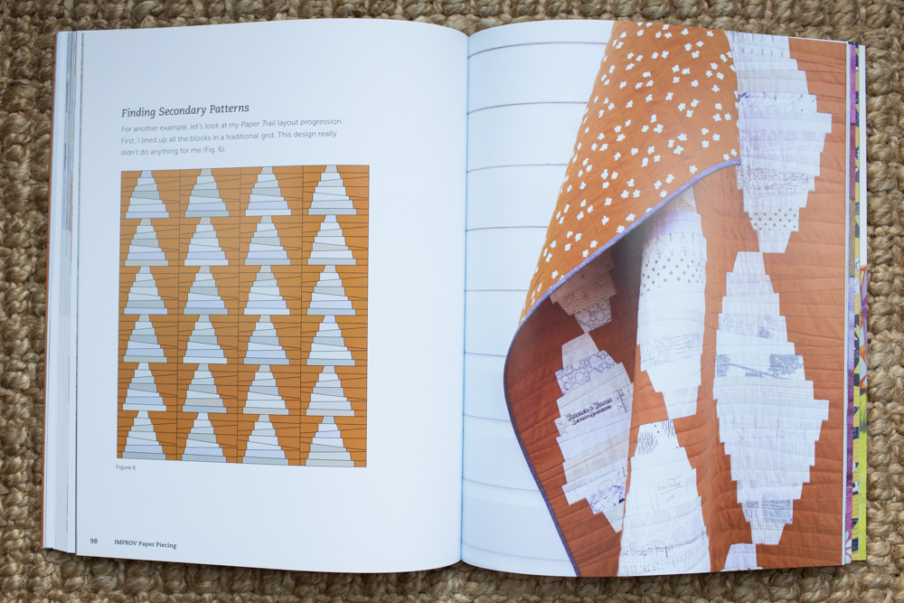 Improv Paper Piecing by Amy Friend : Fresh Lemons Quilts