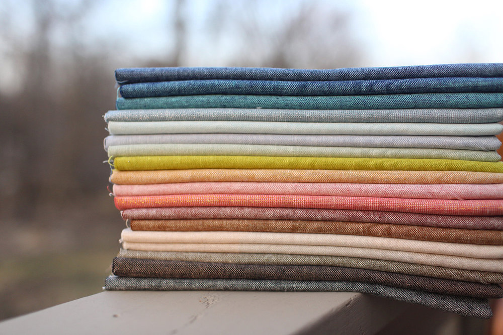 Robert Kaufman Essex yarn dyed linens