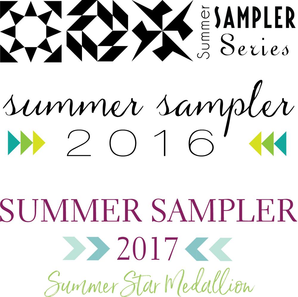 Summer Sampler Series 2011, 2016, 2017 Quilt Mockup : Fresh Lemons Quilts