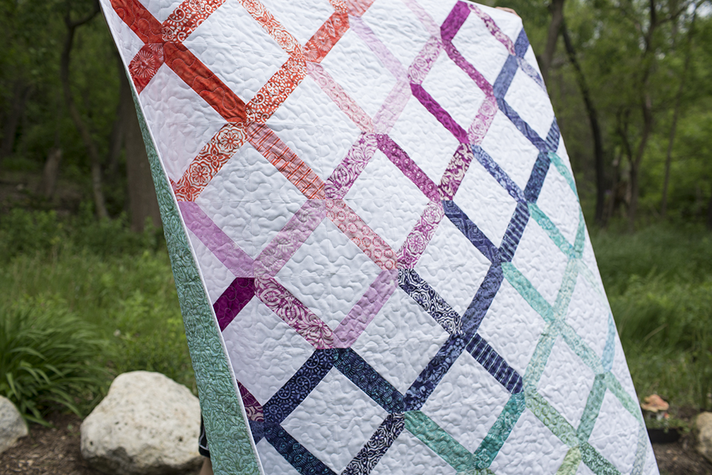 Latitude Lattice at Fresh Lemons Quilts