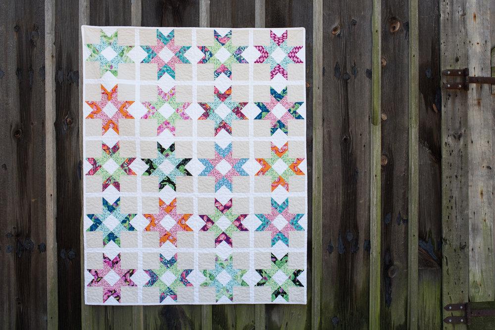 Santa Ana Quilt : Pattern Available at Fresh Lemons Quilts