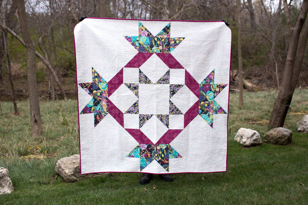 Radiant Splendor Quilt Along by Fresh Lemons Quilts