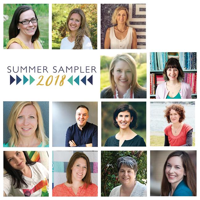 Summer Sampler 2018 Designers