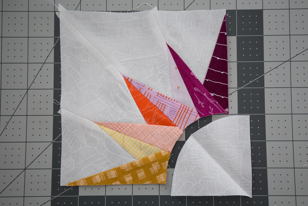 Points Assembly ~ Summer Sampler 2018 at Fresh Lemons Quilts