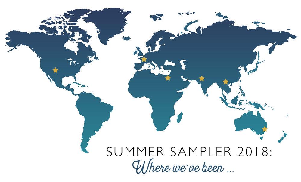 Versailles ~ Summer Sampler 2018