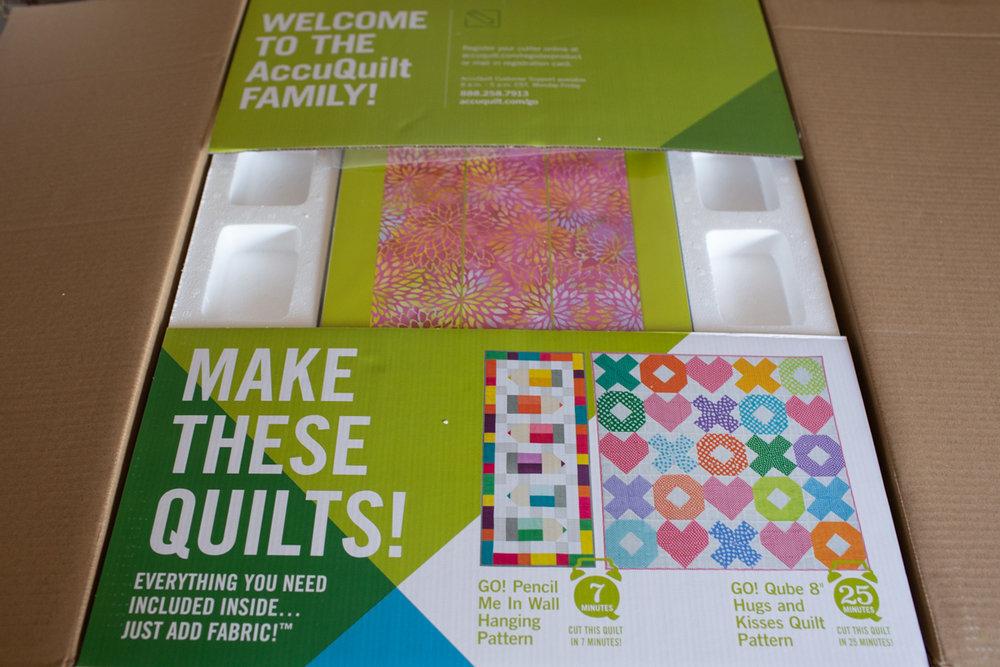 AccuQuilt GO! Fabric Cutter ~ Fresh Lemons Quilts