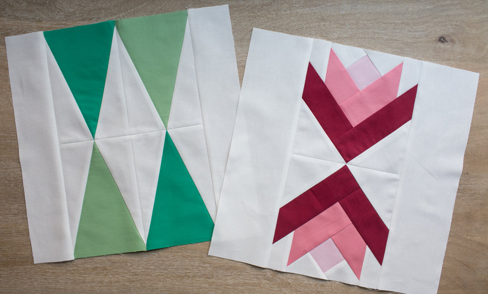 Week 2 : Modern Pine Trees and Poinsettia Flowers -
