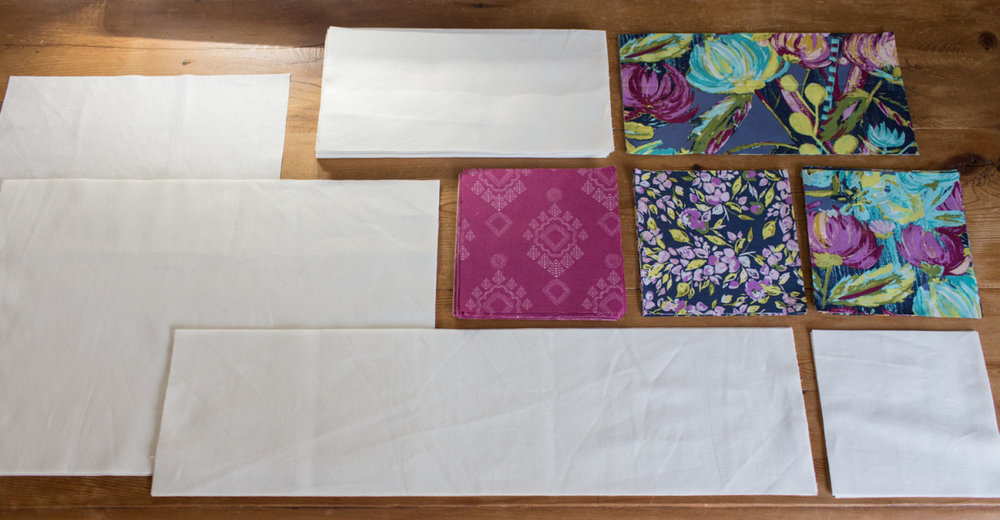 Week 1 : Fabric Selection, Requirements, and Cutting Instructions -