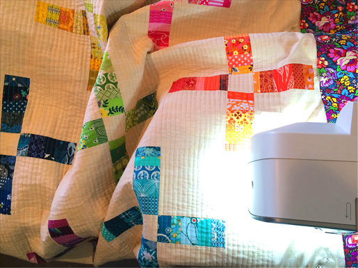 Week 2 : Quilt Top Assembly and Quilting -